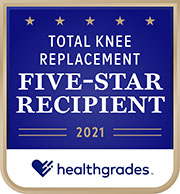 Five Star Total Knee Replacement emblem