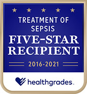 Five Star Sepsis Treatment emblem